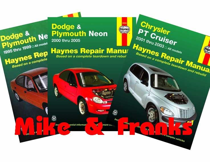 Reparaturanleitung Handbuch Chrysler Neon PT Cruiser Bremse Getriebe ...