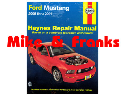 reparaturanleitung buch ford mustang. Black Bedroom Furniture Sets. Home Design Ideas